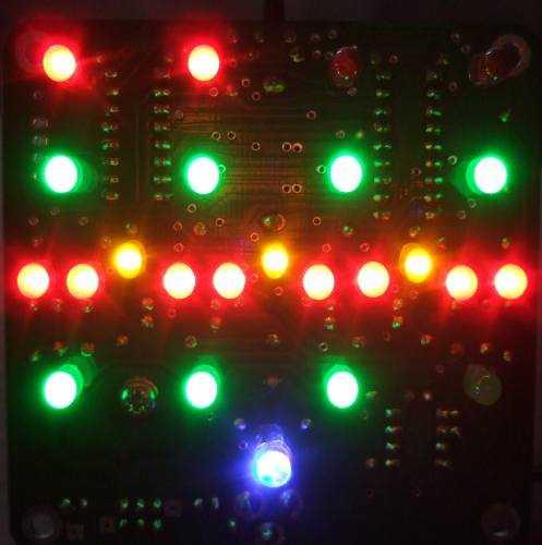 Quinhora clock kit LEDS